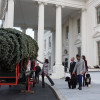 The 2014 White House Christmas Tree Arrives